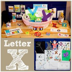 Home Preschool Letter X
