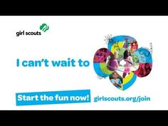 I can't wait to be a Girl Scouts!  www.girlscoutsnorcal.org/join