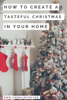 Find out how to decorate your home for a tasteful Christmas this year. Discover top tips from the UK's top interior design influencers. See how they style real Christmas trees with eucalyptus, make their monochrome colour scheme feel festive, or choose unusual blue and silver colour palettes
