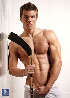 Hey there #HockeyHottie, Hey. #HunkDay #AlexSawyerBennett