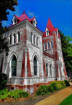 Fillmore Street Chapel - Corinth, Mississippi.