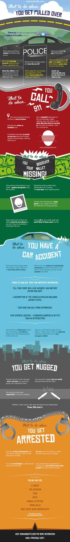 Emergency Guidelines: What to do when You have a Car Accident #accidents #guidelines #car #infographics