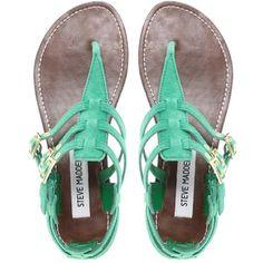 mint green, summer sandals, color, summer shoes, flat, steve madden, aqua, black, stevemadden