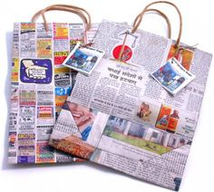 Newspaper bag!