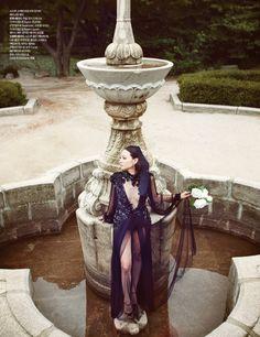Opulent Lady   Lee Som   Choi Yong Bin #photography   Harper's Bazaar Korea September 2012