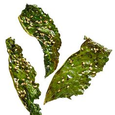 Kale Chips Three Ways: Instead of a bag of potato chips, try these crunchy, savory treats.