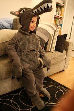 Costume da lupo  Autrice: Michela