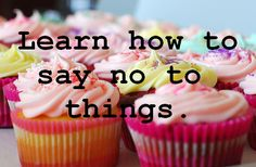 Want to lose weight? It's easy to understand, but difficult to make a habit: just say NO to excess food/junk food!