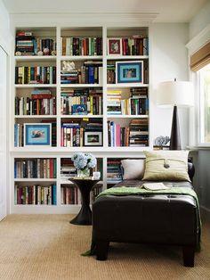 """""""Love these bookshelves!"""""""