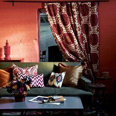 Red Wohnzimmer Wohnideen Living Ideas Interiors Decoration