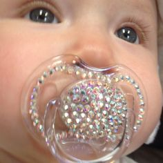 Blinged out binky!