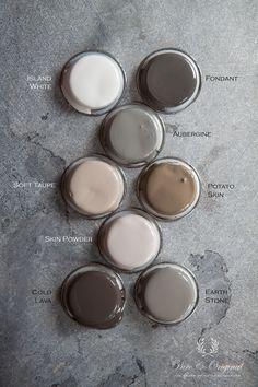 Pure & original interior paint - the most beautiful colour palette.