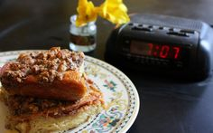 Overnight French Toast by T.Susan Chang, NPR #Overnight_Breakfast #French_Toast #T_Susan_Chang #npr reluct riser, breakfast recip, overnightbreakfast, npr stori, overnight breakfast, feast, fun recip, french toast recipes, baked french toast