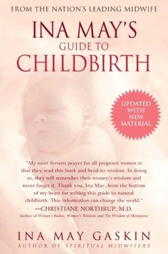 """My midwife suggested this book since I'm not going to be taking any birthing classes.  She warned that she's """"very granola"""" (she was right, total hippie), and to take what you want to and leave the rest.  Despite skipping a lot, it is very informative and fascinating! It does make you feel empowered about labor and delivery because she explains so much.  I'd suggest it to any mom-to-be."""
