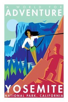 """Yosemite - """"A World For Adventure"""""""