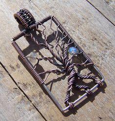 Labradorite, Copper & Sterling Silver  by wild soul studio, via Flickr