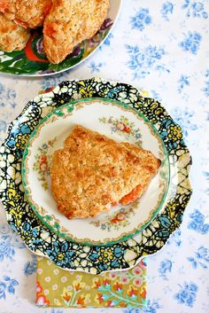 Grapefruit Honey Yogurt Scones
