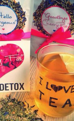 In Need of A Detox? Check out Skinny Fox Detox 100% organic tea detox systems!