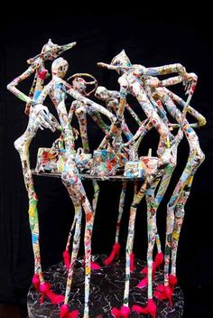 Paper Sculptures 16 Awesome Paper Sculptures of Jean François Glabik