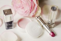 beauté, dior cosmet, makeup, cosmet pink, beauti product, gir, pretti, hair, dior dior