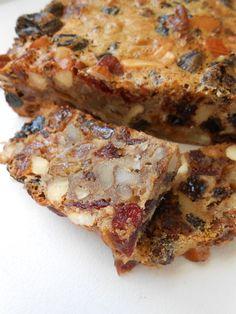 Tu bi'Shvat Cake - A dense, moist, Israeli fruitcake, made with spices ...