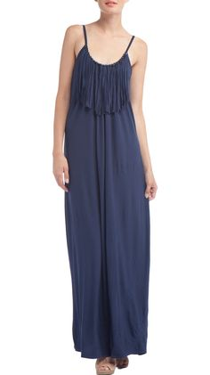Navy Maxi Dress.