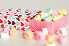 Free Printable : Valentine's Matchbox - from Sara at The Confetti Sunshine blog