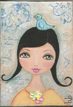 suzi blu art art journal, mix media, suzi blu art