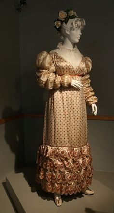 """19th century gown w"