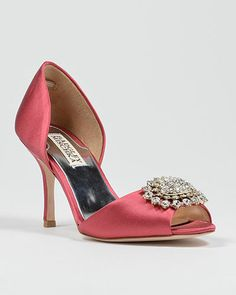 Lacie Open Toe Rhinestone Shoe