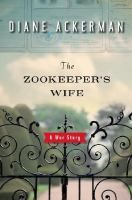 The Zookeeper's Wife by Diane Ackerman- When Germany invaded Poland, bombers devastated Warsaw--and the city's zoo along with it. With most of their animals dead, zookeepers Jan and Antonina Zabinski began smuggling Jews into the empty cages.   Meanwhile, Antonina kept her unusual household afloat, caring for both its human and its animal inhabitants and refusing to give in to the penetrating fear of discovery, even as Europe crumbled around her.