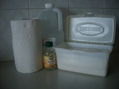 Natural Cleaning: homemade antibacterial wipes