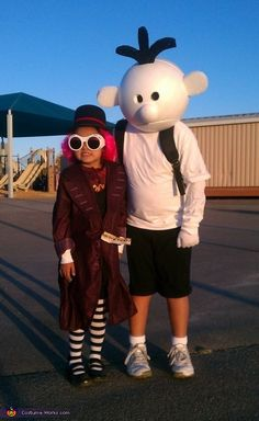 Diary of a Wimpy Kid - 2013 Halloween Costume Contest
