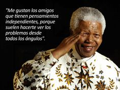 Pensamientos de Nelson Mandela