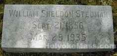Tombstone Tuesday: William Sheldon Stedman September 21 1856 March 29, 1935 #genealogy #familyhistory
