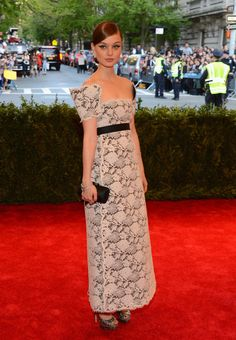 bella heathcote in chanel // Met Gala 2013