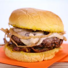 Michael Symon's French Onion Burger! #TheChew #Burger #4thofJuly