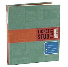 book for ticket stubs