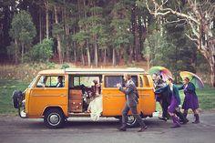Katherine & James' barefoot eco-friendly forest wedding   Offbeat Bride
