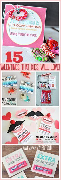15 Valentines that k