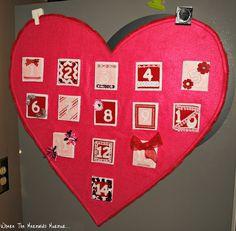 Valentines Countdown Calendar
