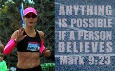Running my first marathon this spring.