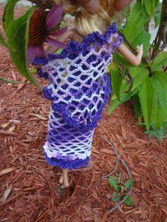 Free Barbie Shawl Crochet Pattern