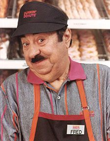 """Fred The Baker (Dunkin' Donuts) - """"Time to make the donuts"""""""
