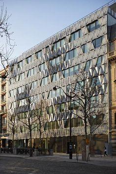 Barclays headquarters building, avenue de Friedland in Paris