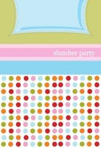 Slumber party game ideas