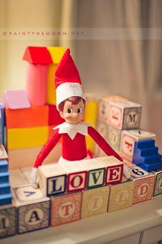 Lots of sweet elf on shelf ideas