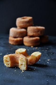 Homemade cronuts.