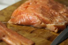 Nordic cured salmon