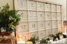 Window Advent Calendar